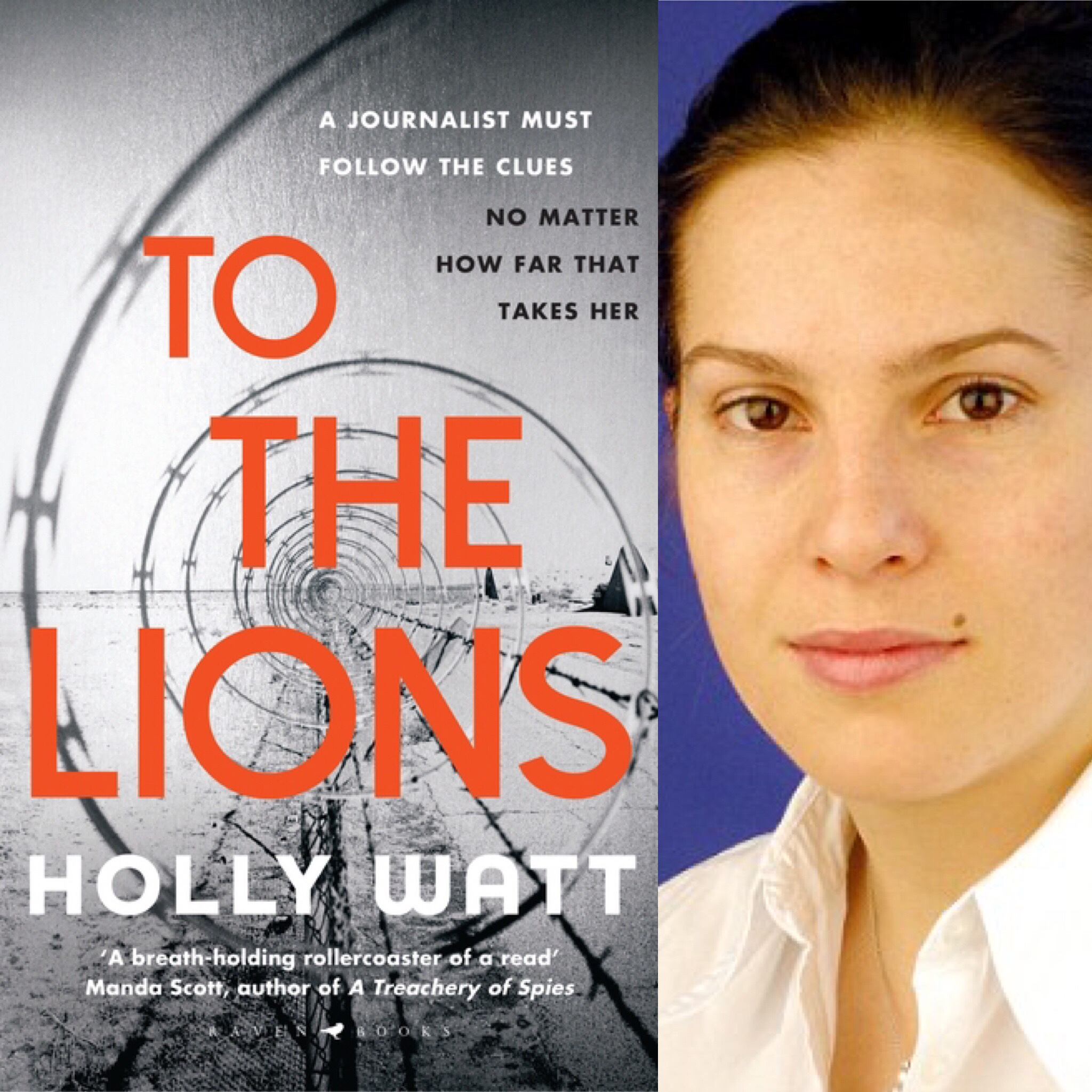 To the lions by Holly Watt book cover