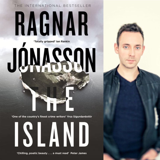 The Island by Ragnar Jonasson book cover